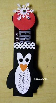 penguin candy bar wrapper
