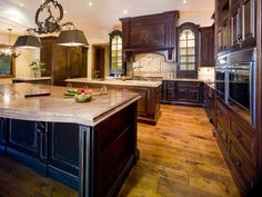 Beautiful kitchen and cabinetry.