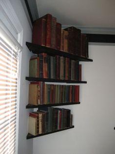 Miller - Welding Projects - Idea Gallery - Corner bookshelves