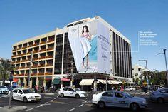 Dove - Unconventional Billboard in Tel Aviv