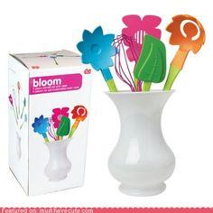 cute kawaii stuff - Bloom Utensil Set
