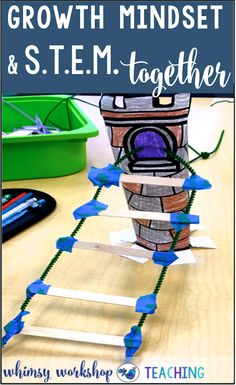 Teach STEM challenges and Growth Mindset activities together using fairy tale partner plays (free download)