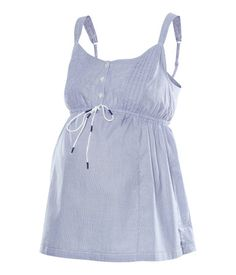 This top looks perfect for the summer.  From H maternity