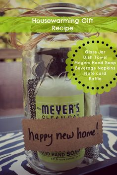 southern state of mind: Housewarming Gift Recipe