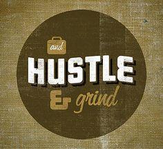 """""""Hustle & Grind"""" is done by Karl Hebert."""