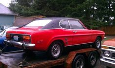 This 1973 Mercury Capri V6 is a 4-speed car that the seller purchased from the original owner one year ago. It runs but hasn't been driven i...