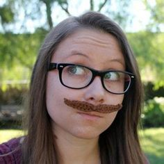 Celebrate Movember with this funny mustache crochet pattern!
