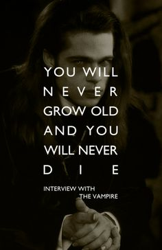 The Anne Rice vampire chronicles... The way vampires were meant to be