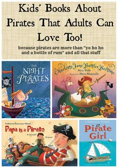 9 Kids' Books About Pirates That Adults Can Love Too - Planet Jinxatron
