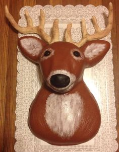 Animal+-+Mounted+Deer+Cake