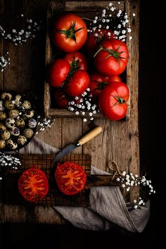Tomatoes by Raquel C