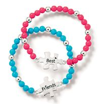 Puzzle Friend Bracelets- The perfect gift for one best friend to give another! One size fits most. Regularly $12.99, buy Avon Kids online at http://eseagren.avonrepresentative.com