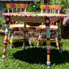 Hand Painted Table and Chairs Just For You  FREE by elliesshop, $595.00