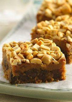 Sweet 'n Salty Peanut Bars {Gluten Free}