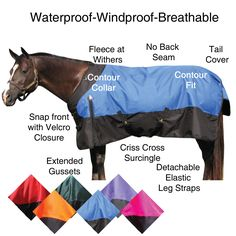 Keeps my horses warm and dry.