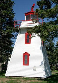 Dixon Point (Dixon Point Range Front) Light, Saint-Thomas-de-Kent, New Brunswick, Canada