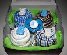 Onesie Cuppy Cake Blue