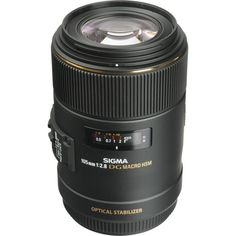 Sigma 105mm f/2.8 EX DG OS HSM Macro Lens for Canon EOS 258101