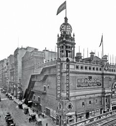 The Hippodrome, circa 1910 at 44th St & 6th Ave