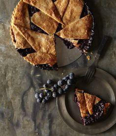 A Holiday Pie Bake with Four recipes Including Concord Grape Pie