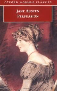 Persuasion by Jane Austen. Classic Novel Recommendation.