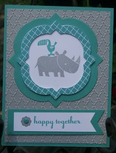 Stampin' Dish with Trish: Zoo Babies- not just for babies!