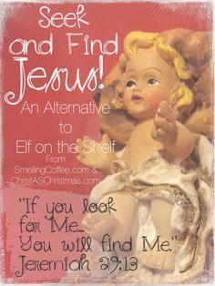 Seek & Find Jesus ~