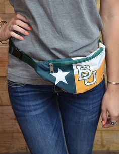 BU Texas Flag Fanny