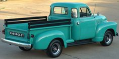 car, chevy trucks, vintage trailers, 1953 chevi, pickup trucks, old trucks, vintage trucks, something blue, baby blues