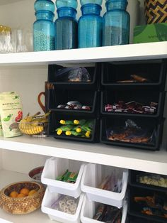 Pure genius over at Little Green Notebook. Must remember this for future house organization!!