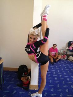 CHEER competitive cheerleading, cheerleader, scorpion, needle #KyFun m.21.42.5  moved from @Kythoni Cheerleading: Stunts: Bow & Arrow, Heel Stretch, Scorpion & Scale  board http://www.pinterest.com/kythoni/cheerleading-stunts-bow-arrow-heel-stretch-scorpio/