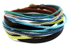 Mens Womens  Leather Bracelet Wristband cuff by accessory365, $8.00