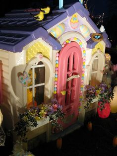 Oh and my all time favorite Little Tikes playhouse conversion is Hermey's Easter house.