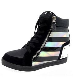 Misbehavin' Plated Fashion Sneakers