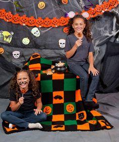 Halloween Throw Crochet Pattern