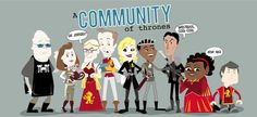 A Community of Thrones by ~vicorintian
