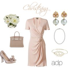 Christening Outfit Idea, created by #adp1 on #polyvore. #fashion #style ISSA London #Valentino
