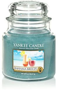 Bahama Breeze yankee candle co  My second yankee candle I have brought. LOVE IT!!!!