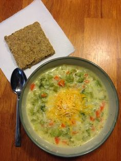 It's Not Called Toddler Weight: Recipe: Broccoli Cheddar Soup - THM style