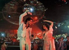 "Step Up 2 Dance ... this this the movie that got the guy on the dance floor ... ""Saturday Night Fever"" (1977)  (John Travolta)"
