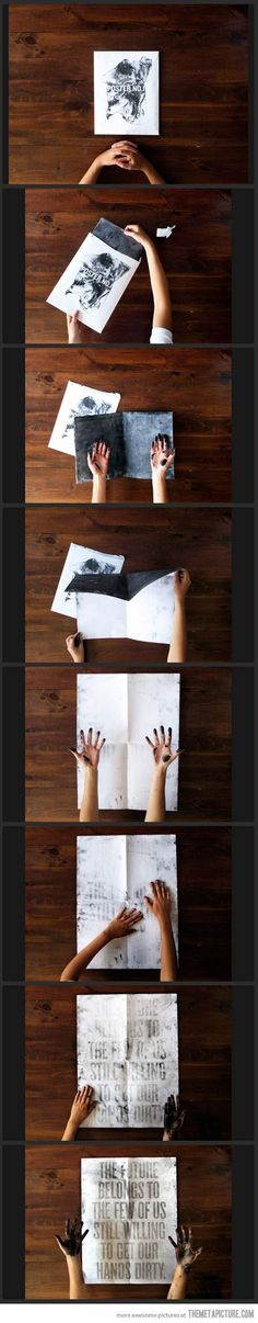 awesom poster, hands, interest poster, random interest, inspir, quot, clever posters, thing