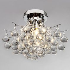 LightInTheBox Modern Crystal Mini Style Flush Mount Chandelier with 3 Lights Ceiling Light Fixture for Study Room/Office, Dining Room, Bedroom, Living Room LightInTheBox http://www.amazon.com/dp/B00LO1DCEK/ref=cm_sw_r_pi_dp_XMKpub0HFDBE4
