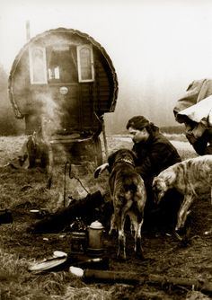 Romany Gypsy Caravan bow top wagon Appleby Horse Fair