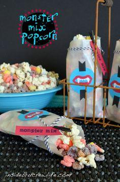 Monster Mix Popcorn Munch