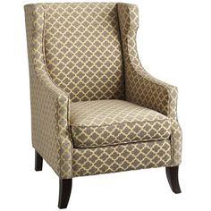 Alec Wing Chair - Lattice