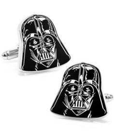 {Star Wars Darth Vader Head Cufflinks} #FathersDayGift