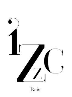 paris typeface treatment