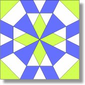 Hawaii - Free Quilt Block Pattern