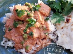 Tempeh Tikka Masala | OAMC from Once A Month Meals