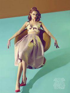 DRESS TO KILL MAGAZINE:  Fashion Styling: Amy Lu, Judy Inc
